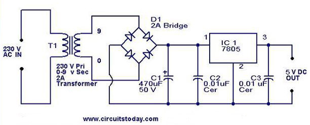 5v-regulator-using-7805